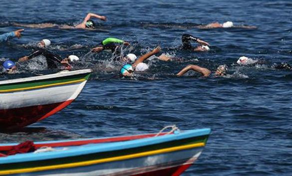 Боливия провела международный турнир по плаванию в открытой воде. В Боливии прошел турнир по плаванию