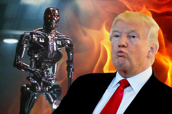 ВСША появился робот пораспечатыванию исжиганию твитов Трампа