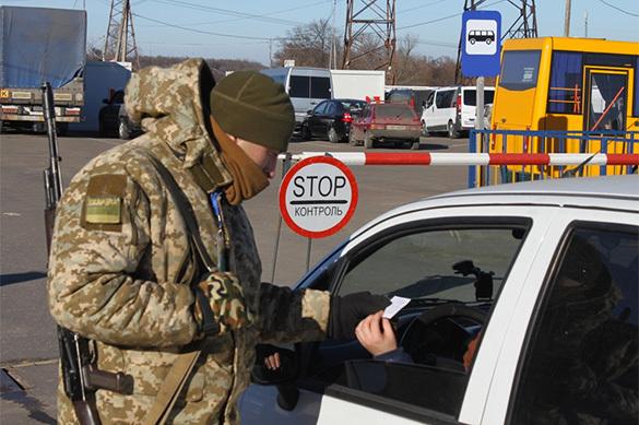 Украина прекратила пропуск машин на границе под Белгородом