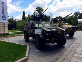 Военная техника в центре Киева оказалась рекламной акцией