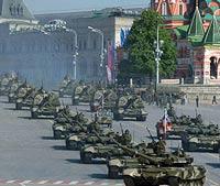 В День Победы в столице ограничат движение транспорта