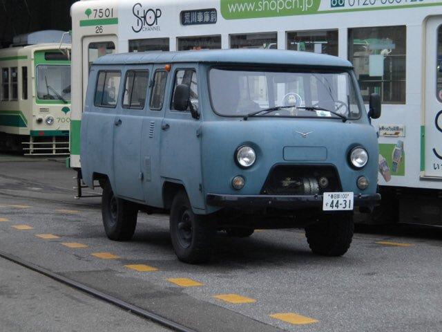 Автомобиль УАЗ-3909 вЯпонии пользуется большим спросом