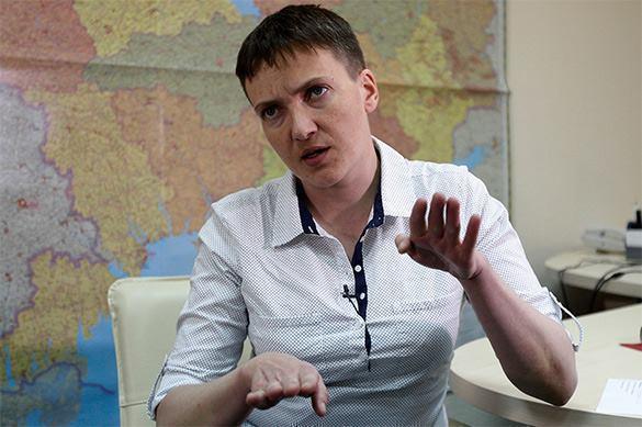 Савченко претендует на пост президента Украины. Савченко претендует на пост президента Украины