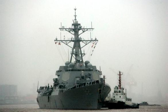 Эсминец США в Южно-Китайском море провоцирует Третью Мировую