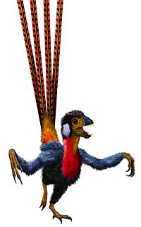 Динозавры всех цветов радуги
