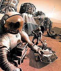 Колонизаторам Марса угрожают земные инфекции?
