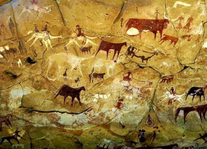 Наскальная живопись эпохи неолита