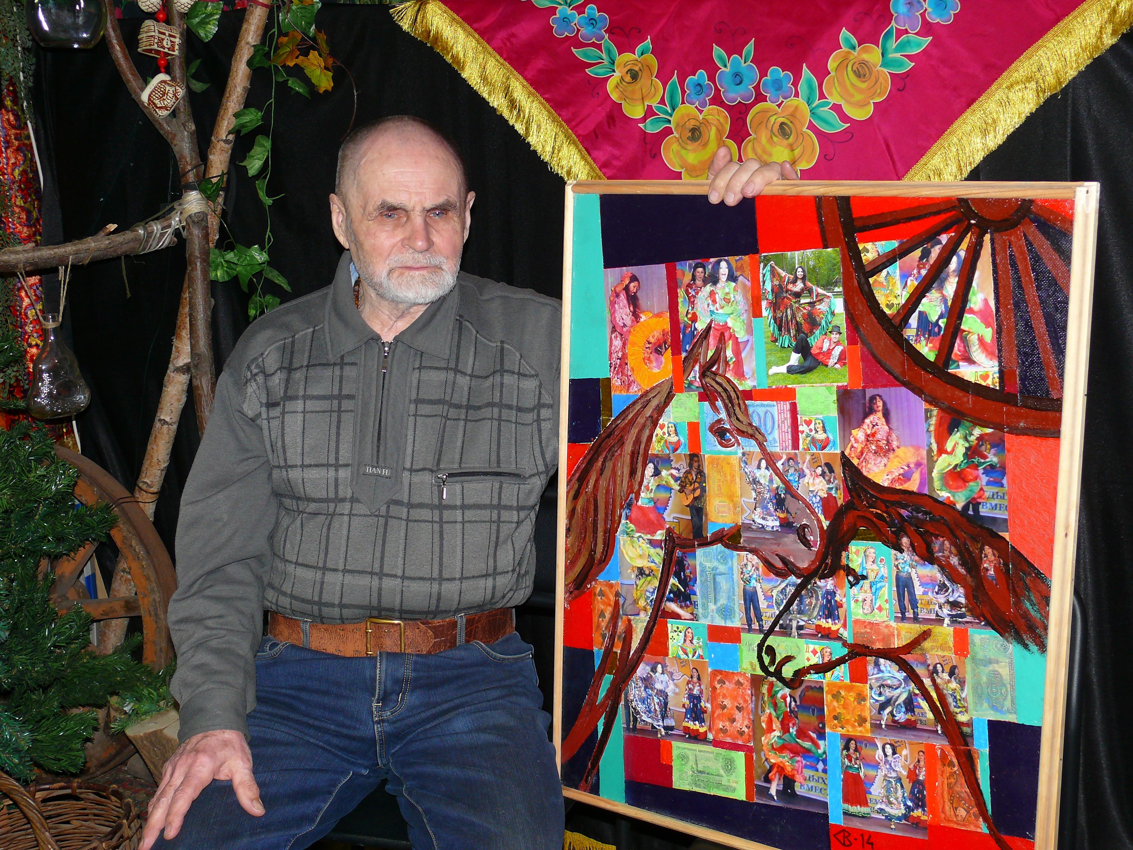 Путешествие в мир цыган. Костромской художник подарил картину