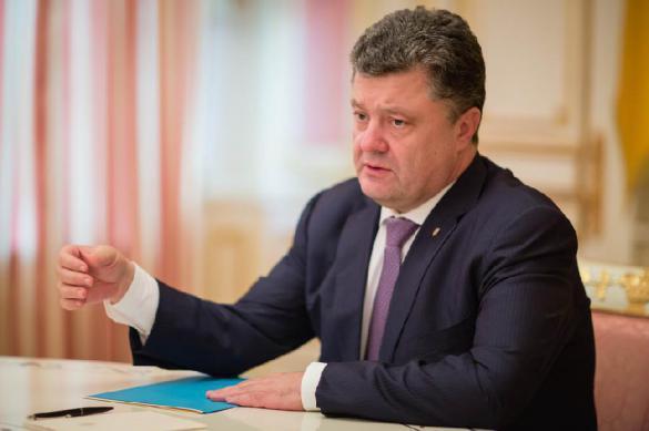 Порошенко возвестил о ценности украинского паспорта. Порошенко возвестил о ценности украинского паспорта
