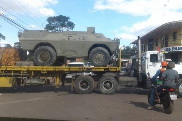 Соцсети заметили передвижение танков к границе Венесуэлы с Бразилией. 399428.jpeg