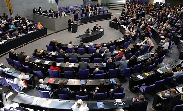 заседание у бундестаге