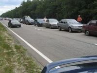 На выезде из Крыма образовалась пробка из 1000 машин