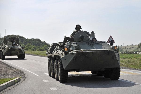 В войска ЮВО поступили бронемашины