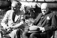 Рузвельт и Черчилль