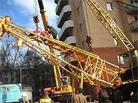 Нижний скорбит по жертвам падения строительного крана