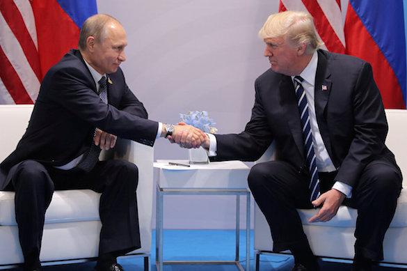 """Daily Telegraph: Дональд Трамп пригласит Владимира Путина в Белый дом, когда наступит """"подходящее время"""". 371434.jpeg"""