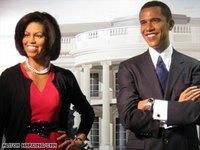 Жену Обамы изваяли в воске