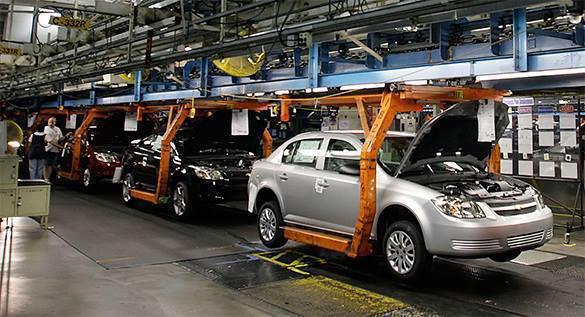 GM отзывает партию своих автомобилей