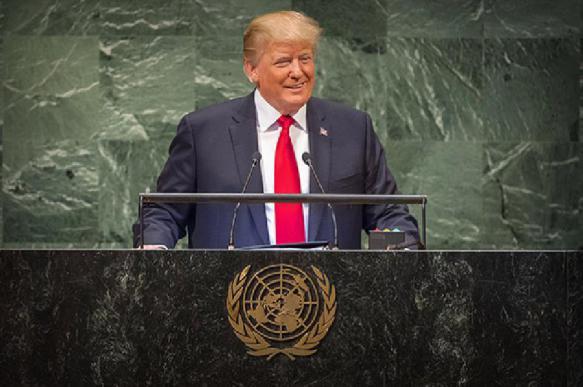 Трамп объяснил, почему в ООН смеялись во время его выступления. 392435.jpeg