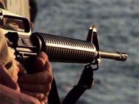 Сомалийские пираты обстреляли американский вертолет