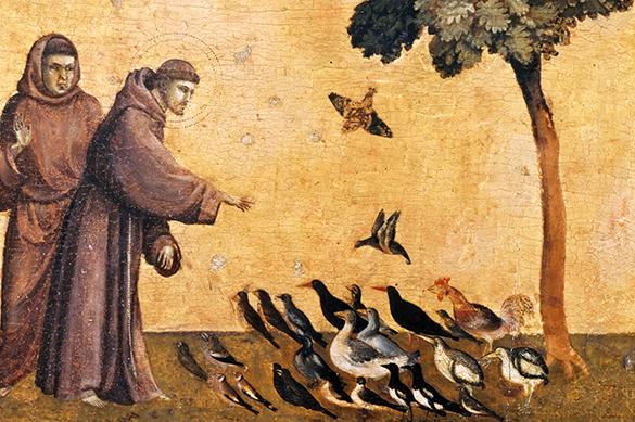 Ученые подтвердили подлинность мешка с хлебом от святого Франциска Ассизского. 376436.jpeg