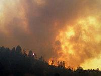 Молния привела к огромному лесному пожару в Миннесоте. fires