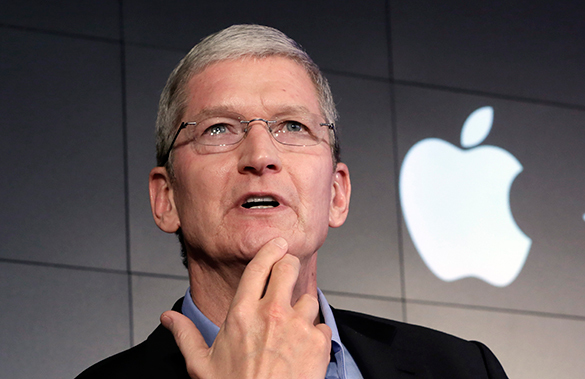 Глава Apple открыл аккаунт в китайской соцсети. Тим Кук