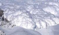 На Сахалине сошла лавина