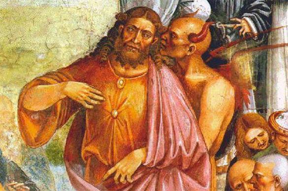 Взбесился дьявол!: афонский старец предсказал миру страшные го