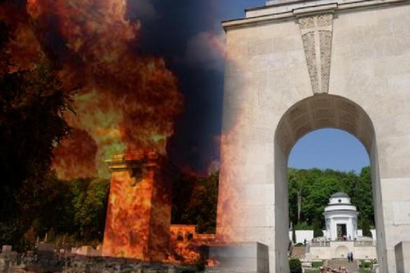 Во Львове у польского Мемориала орлят взорвали гранату. Во Львове у польского Мемориала орлят взорвали гранату