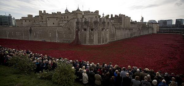 Лондон почтил  минутой молчания погибших в Первой мировой войне. 303440.jpeg