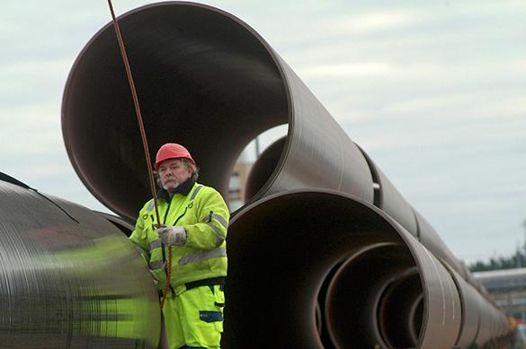 """Загрузка газопровода """"Северный поток"""" превысила 90% проектной мощности. Загрузка газопровода Северный поток превысила 90проц. проектной мо"""
