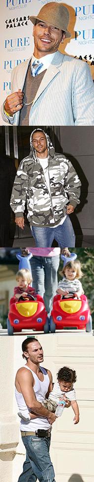 Кевин Федерлайн станет детским модельером
