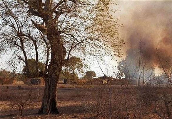 """Позиции """"Боко Харам"""" подверглись авиаудару  нигерийской авиации. Нигерия"""