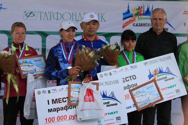Спортсменка из Якутии побила женский рекорд России в марафонском беге. Сардана Трофимова