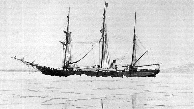 В Арктике нашли английскую шхуну