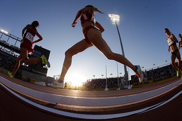 легкая атлетика, бег