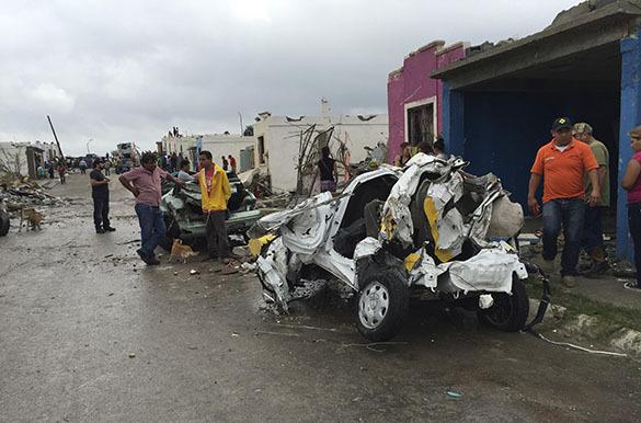 На север Мексики обрушился торнадо. Мексика, торнадо