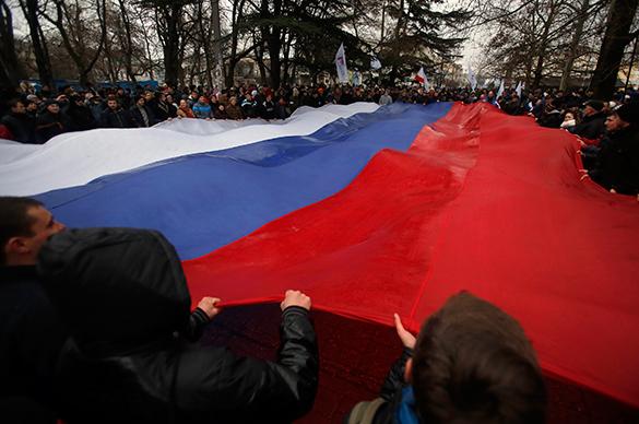 Около 12 тысяч краснодарцев вышли на марш в поддержку украинцев. 289446.jpeg