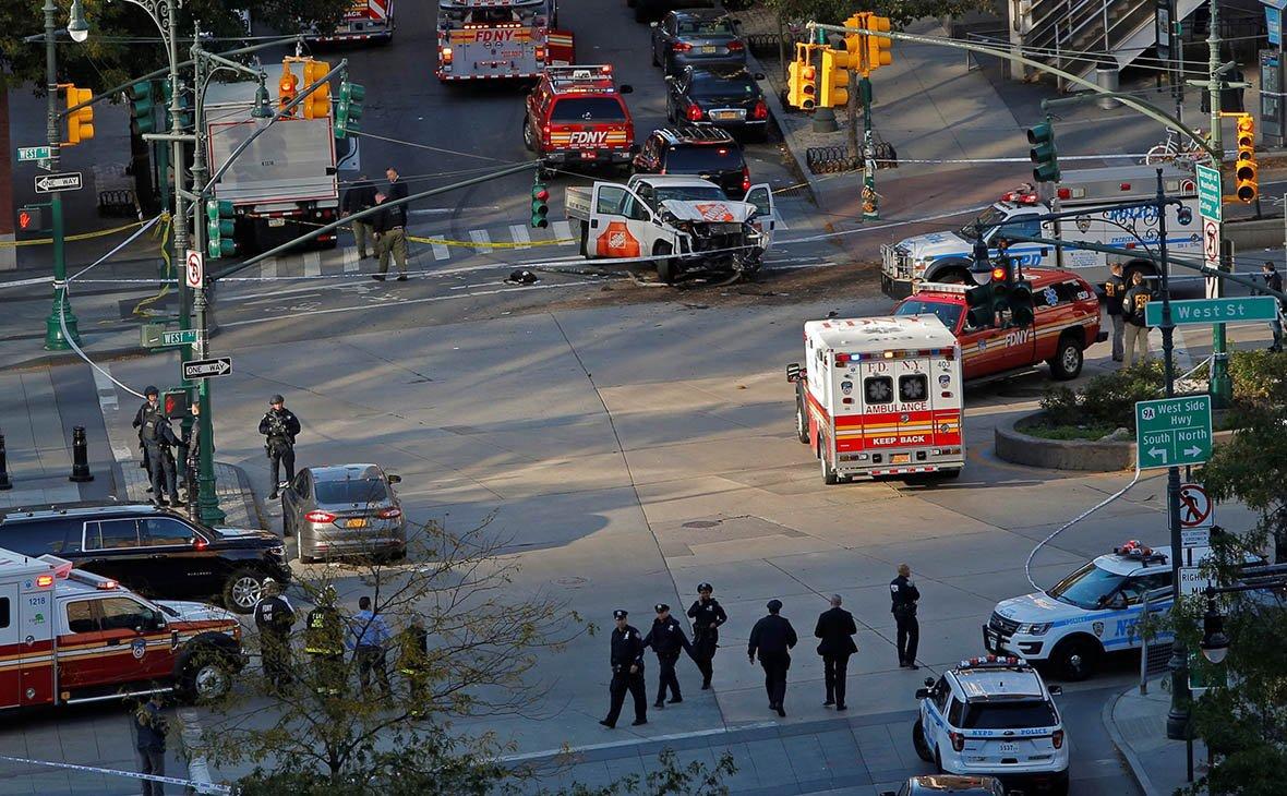 8 погибших, 12 раненых— Теракт вНью-Йорке