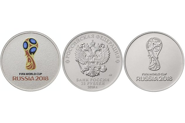 ЦБРФ выпускает памятные монеты всвязи спроведениемЧМ