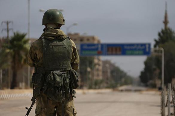 Сотрудники российской военной полиции нашли в Сирии танк по карте боевиков. 403451.jpeg