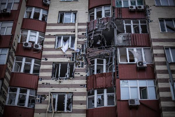дом в Донбассе