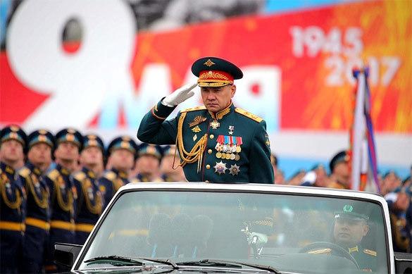 Министр обороны Шойгу поздравил россиян с Днем Победы