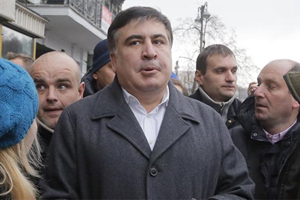 Сторонники Саакашвили подрались с сотрудниками полиции в Киеве. Сторонники Саакашвили подрались с сотрудниками полиции в Киеве