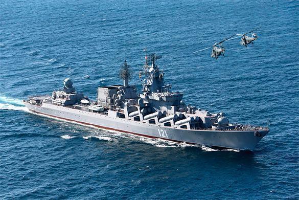 Эсминец ВМС США, оснащенный крылатыми ракетам, зашел в болгарский порт. 308457.jpeg