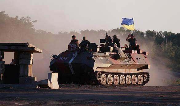СМИ: Гибридная война против России уже идет. на украинском танке