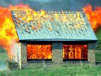 В Оренбурге сгорели полсотни частных домов
