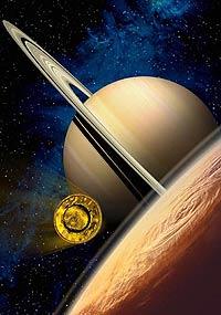 На Титане идут метановые дожди