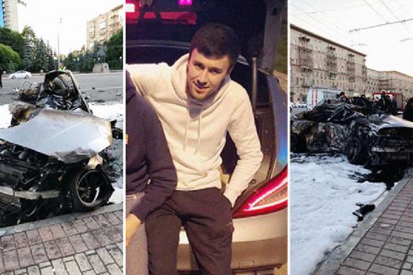 СМИ: в страшной аварии на Кутузовском сгорели заживо